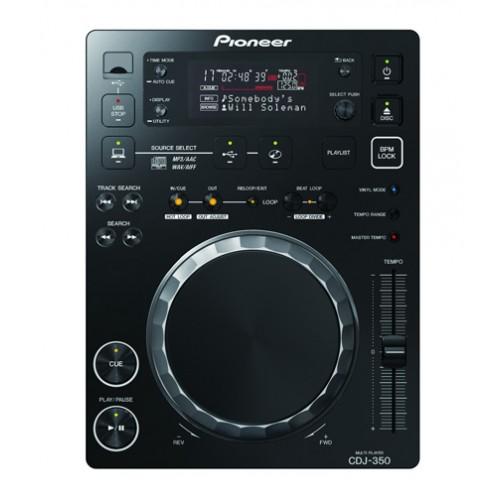 PIONEER DJ - Leitor CD Pro DJ - CDJ-350 Digital Pioneer